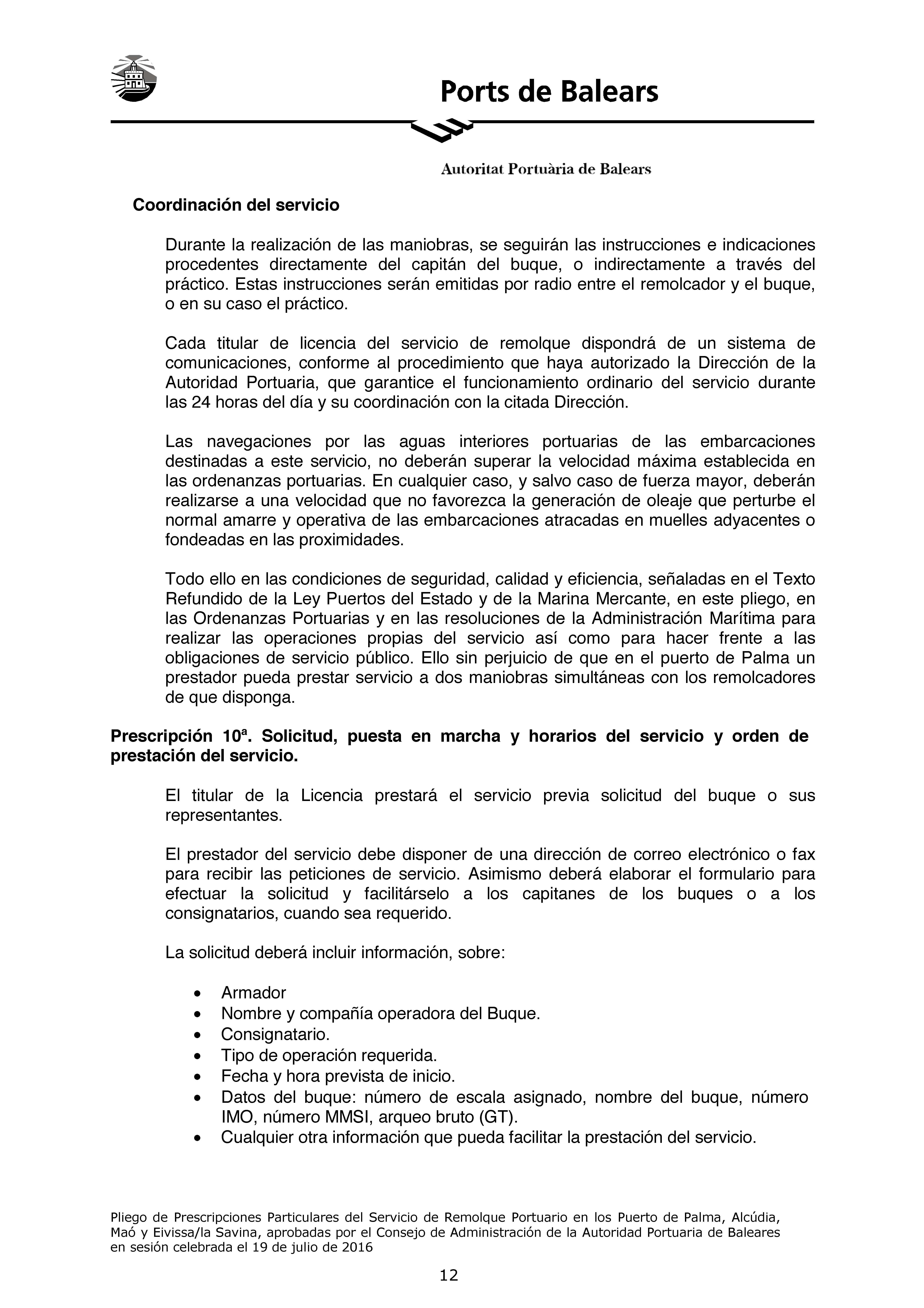 Documento | Ports de Balears