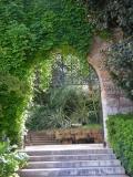 Entrada al recinto de la Cuarentena de Palma