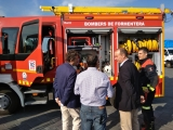 Imagen de Archivo. Entrega de un camión por parte de la APB a los Bombers de Formentera. 23-10-2018