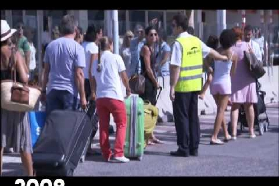Així era el port d'Eivissa l'estiu de 2009. Ho recordau?